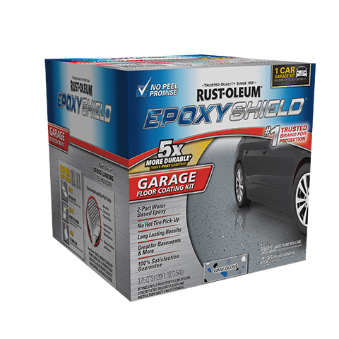 Epoxyshield 174 Garage Floor Coating Kit Product Page