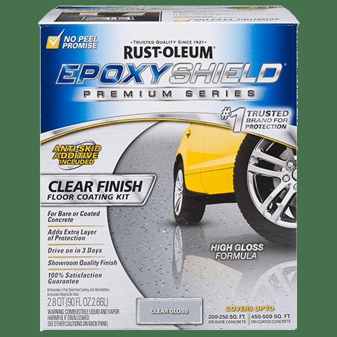 Epoxyshield 174 Premium Clear Coating Kit Product Page