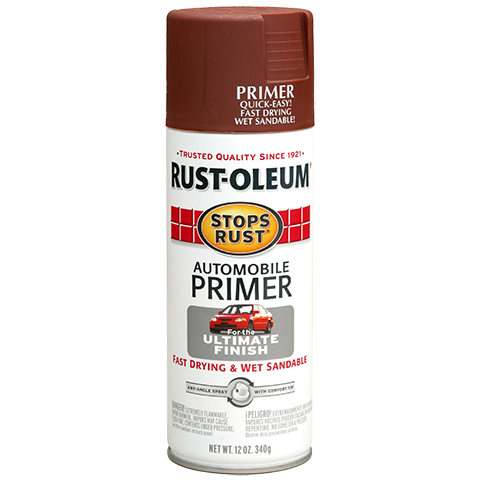 Stops Rust Automotive Primer Spray Product Page