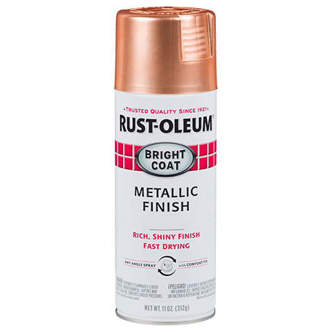 Rust-Oleum Bright Coat Metallic Finish Copper Spray Paint