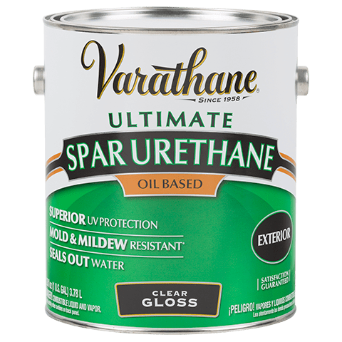 Varathane Ultimate Spar Urethane Exterior Oil Based Clear Gloss Paint