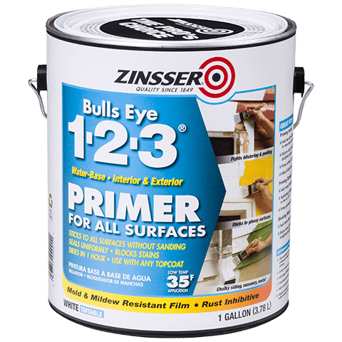 Zinsser 174 Bulls Eye 174 Water‐base Primer And Sealer Product Page