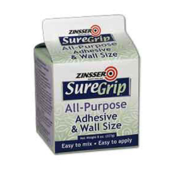 Zinsser Suregrip All Purpose Adhesive Wallsize Product Page