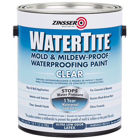 Watere Clear Waterproofing Paint