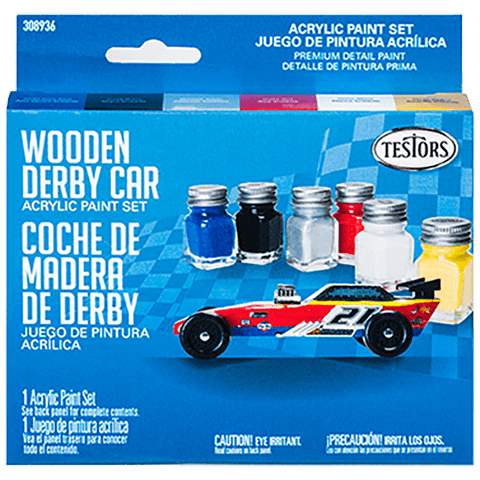 Wooden Derby Car Kit