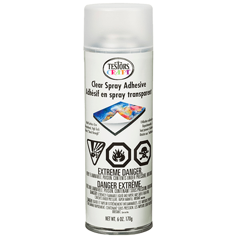 Tools Clear Spray Adhesive