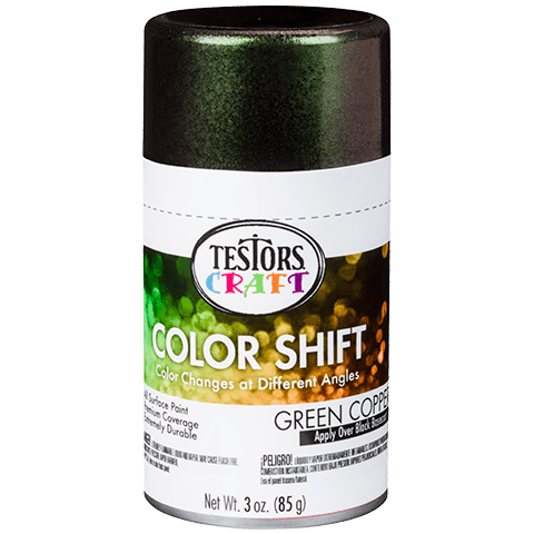 Color Shift Aerosols Product Page