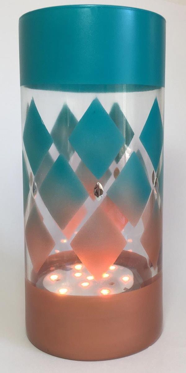 Diamond Patio Lantern