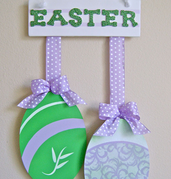Easter Egg Door Hanger
