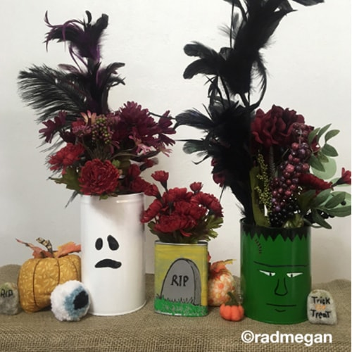 Halloween Vases project