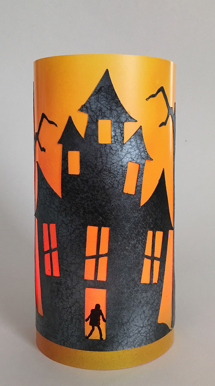 Lighted Haunted House project