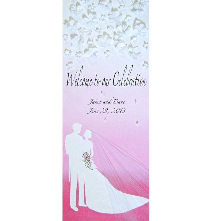 Lighted Wedding Canvas