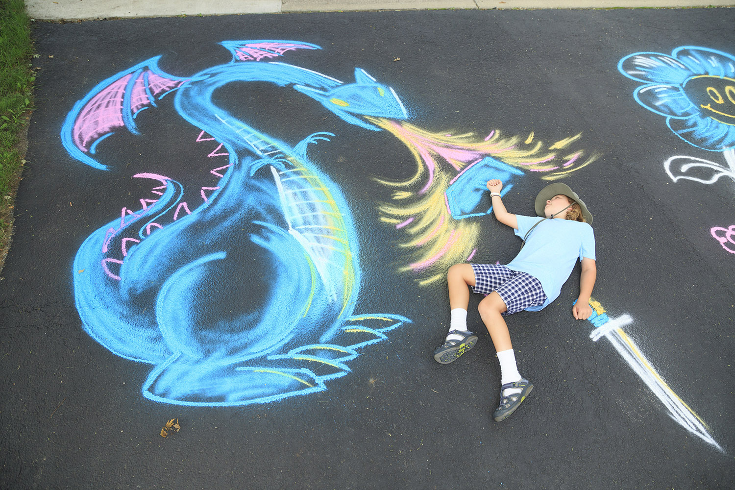 Spray Chalk Dragon Slayer