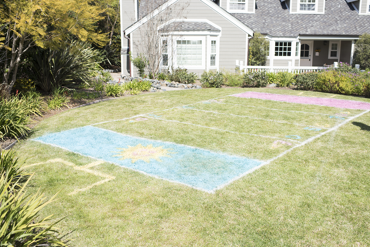 Spray Chalk Football Field