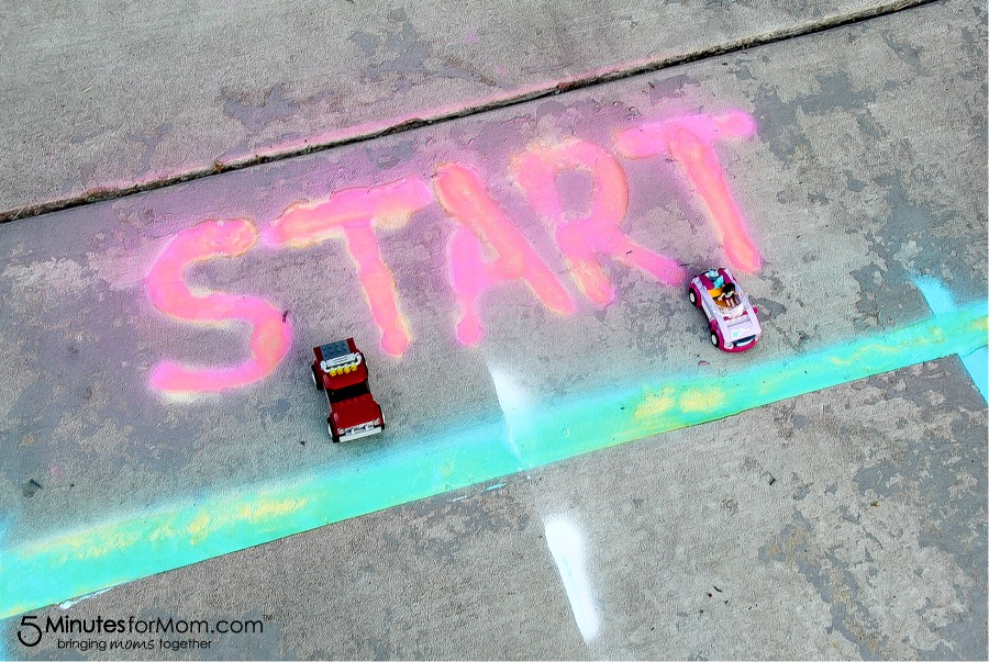Spray Chalk Racetrack project