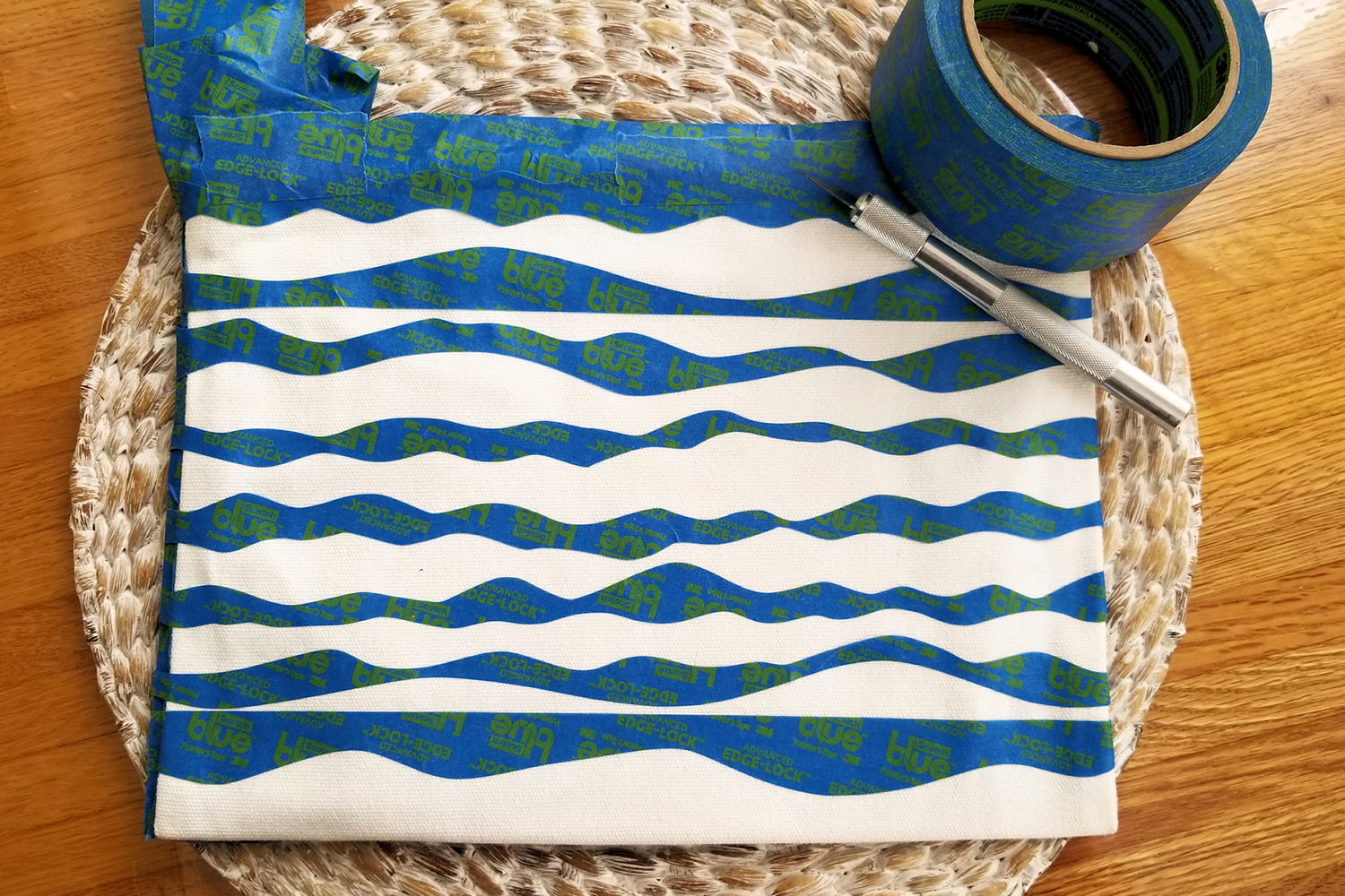 Fabric Painted Purse
