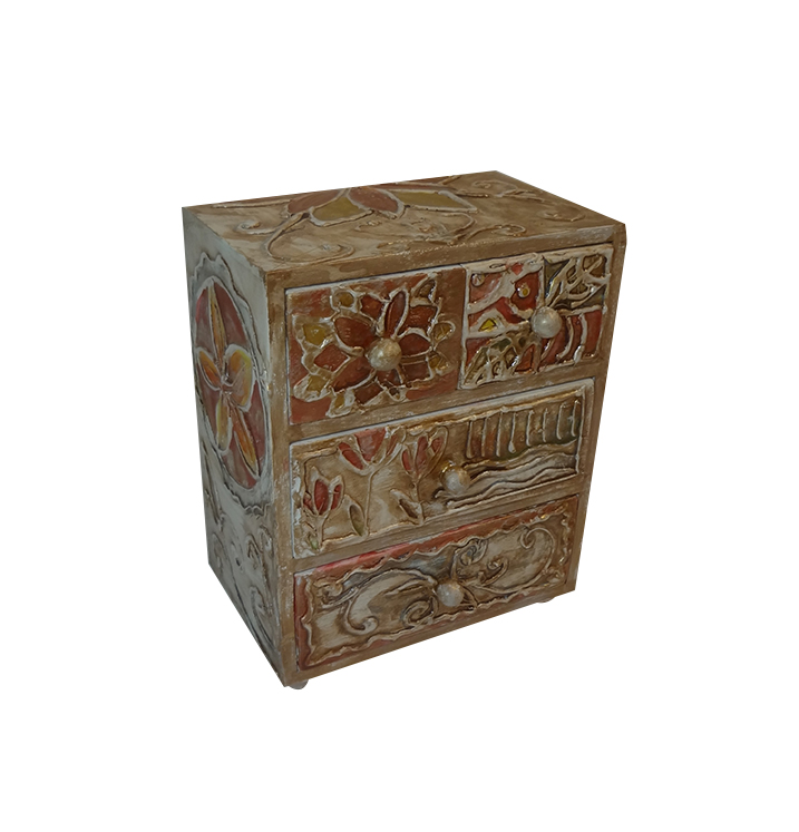 Small Decorative Jewelry Boxes : Decorative floral jewelry box