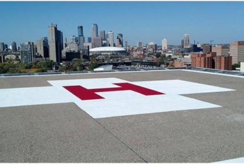 Fairview Riverside Hospital Helipad Coating Project